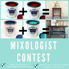 The Superior Mixologist Contest Paint, Free, Products, Picture Walls, Paintings, Drawing, Beauty Products, Color