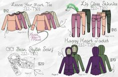 Great colours for tweens!