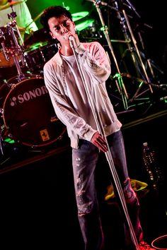 YONCE(Vo)(Photo by Shun Komiyama)