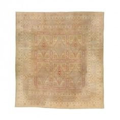 "Antique Amritsar Wool Rug - 13'10""x15'2"""