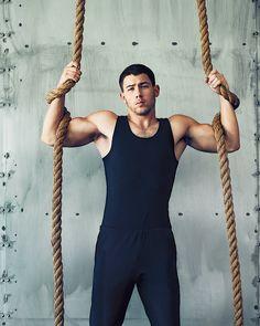 "jobrosnews: "" Nick Jonas for Men's Fitness by Peter Yang. """