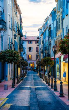 Evening walk ~Antibes, French Riviera, France