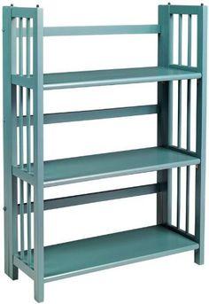 "Folding / stacking Bookcase, 27.5""W, TEAL, http://www.amazon.com/dp/B0054IHWOA/ref=cm_sw_r_pi_awdm_Uwsdub086YK3M"