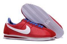 Find Hot Nike Cortez Nylon Women Shoes Red White Blue online or in Footlocker. Shop Top Brands and the latest styles Hot Nike Cortez Nylon Women Shoes Red White Blue at Footlocker. Nike Cortez Blue, Nike Cortez Mens, Nike Classic Cortez, Buy Nike Shoes Online, Nike Shoes For Sale, Cheap Nike Running Shoes, Cheap Nike Air Max, Blue Sneakers, Sneakers Nike