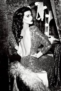 Katy Perry's latest campaign for the hair-styling brand Ghd shot by Ellen von Unwerth in Los Angeles.