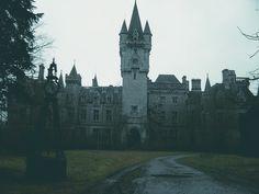 Chateau Miranda or Chateau de Noisy, abandoned castle in Belgium