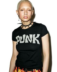 Punk Logo T-Shirt