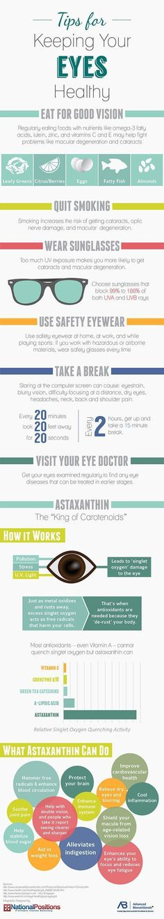 Don't forget to do some of these things to keep your peepers healthy. #ImproveEyesightHealth