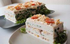 Receta de cocina: Pastel de atún y berros
