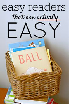 20 Easy reader books and series for kids learning to read. These are actually easy.
