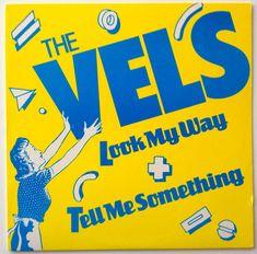 The Vels - Look My Way / Tell Me Something LP Vinyl Record Single, Mercury - 880 407-1 DJ, New Wave, Synth Pop, 1984, Original Pressing