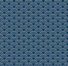 Batik Pattern, Wave Pattern, Pattern Design, Japanese Illustration, Creative Illustration, Vintage Japanese, Japanese Art, Textures Patterns, Fabric Patterns