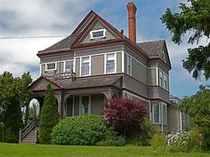 Our friends Nancy and Scott have recently moved to Port Townsend and they invited us out. Port Townsend Washington, Townsend Homes, Victorian Houses, Home And Away, Old Houses, Townhouse, Apartments, Rebel, Condo