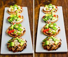 Easy Mini Nacho Pizzas!
