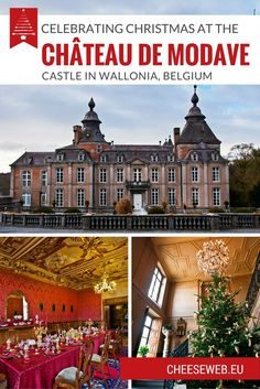 Christmas at the Château de Modave makes this Belgian castle a worthwhile winter visit if you're traveling in Wallonia.