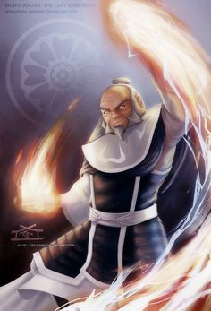 Iroh is one of my favorite characters on Avatar the Last Airbender. An awesome pic of him by Rennard