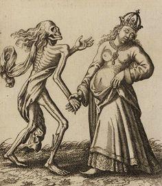Matthäus Merian. Todten-Tantz, Basel's Dance of Death. 1649. . Magic Transistor