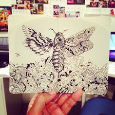 Surreal Hybrid Drawings on Sketchbook Pages – Fubiz Media