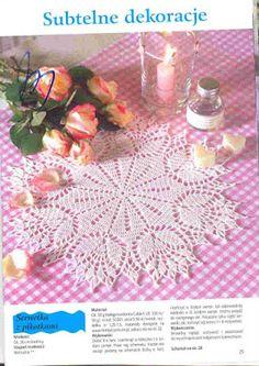 Kira scheme crochet: Scheme crochet no. 1245
