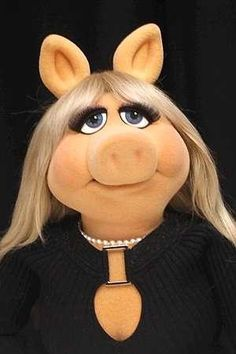 1000+ images about Miss PIGGY on Pinterest   Miss piggy, The muppets and Kermit