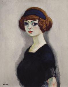 Kees van Dongen - La Blouse Noire, 1910