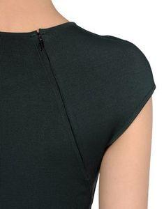 Dark grey dress with diagonal hidden zipper.. DIY the look yourself: http://mjtrends.com/pins.php?name=zipper-for-dress_1