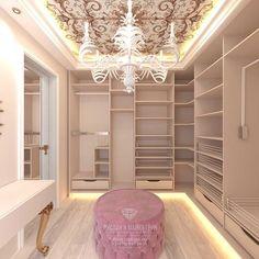 Luxury Closet Design & High End Closet Systems Walk In Closet Design, Bedroom Closet Design, Master Bedroom Closet, Girl Bedroom Designs, Closet Designs, Bedroom Decor, Dressing Room Closet, Dressing Room Design, Wardrobe Room