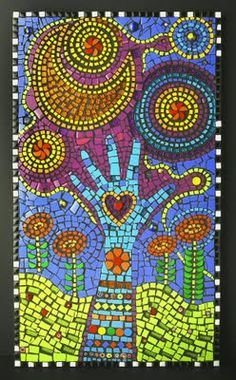 Creating Beautiful Art from Recycled Junk & Glass – Mosaics by Flair Robinson