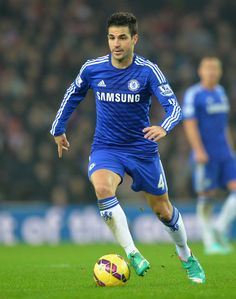Cesc Fabregas of Chelsea during the Barclays Premier League match between Sunderland and Chelsea at the Stadium of Light on November 29, 2014 in Sunderland, England.