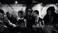 Kanye West, Big Sean, J Cole, Drake and 2 Chainz Dancehall Reggae, Reggae Music, Travis Scott, J Cole And Drake, New Music, Good Music, Jamaica News, Aubrey Drake, Reggae Artists