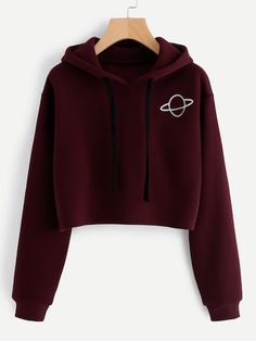 SheIn offers Planet Print Hoodie & more to fit your fashionable needs. SheIn offers Planet Print Hoodie & more to fit your fashionable needs. Girls Fashion Clothes, Teen Fashion Outfits, Outfits For Teens, Fashion Ideas, Girl Fashion, Gym Outfits, Fashion Black, Fashion Styles, Fashion Women
