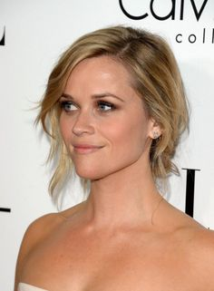 Reese Witherspoon Chignon Hairstyle 2014