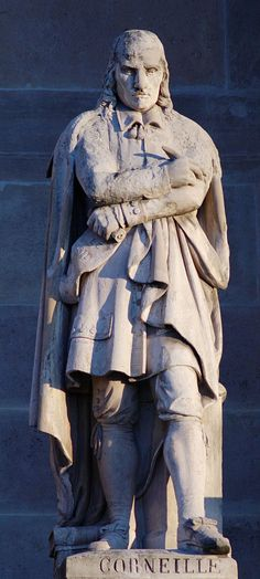 Corneille cour Napoleon Louvre - Category:West facade of the Richelieu Wing (Louvre) - Wikimedia Commons Napoleon, 17th Century, Art Boards, Facade, Wings, Louvre, Culture, Statue, History