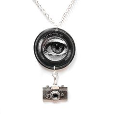 Lens Necklace, £20, now featured on Fab.