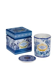 Castelbel Gold and Blue Candle