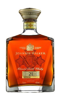 Johnnie Walker XR - Aged 21 Years - Blended Scotch Whisky ( I have this one ) Cigars And Whiskey, Scotch Whiskey, Bourbon Whiskey, Bourbon Drinks, Irish Whiskey, Whiskey Girl, Liquor Drinks, Tequila, Alcohol Bottles