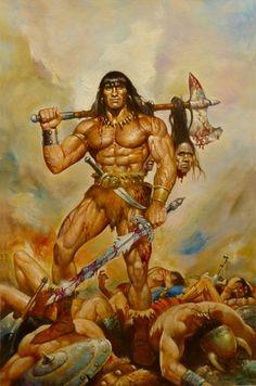 Conan - 13 Comic Art