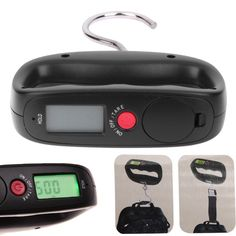 Portable 50kg/10g Electronic Digital LCD Display Travel Luggage Hanging Scale Backlight Balance Weighing Scales