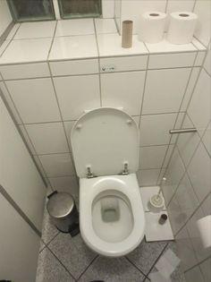 Damentoilette des Café Gnosa