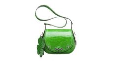 Hermès Passe-Guide Ireland in vivid green crocodile skin @ http://baglissimo.weebly.com/