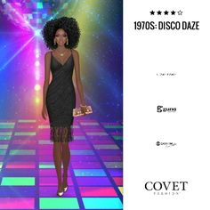 ✨Covet Fashion   Event/Theme: 1970s: Disco Daze✨