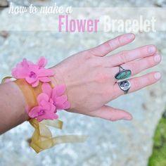 Flower Bracelet Headband by Stacie Stacie Stacie, via Flickr