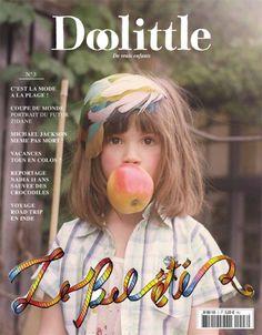 i don't have kids, but i'm loving Doolittle magazine Magazine Vogue, Fashion Magazine Cover, Magazine Cover Design, Magazine Covers, Feather Hair Pieces, Magazines For Kids, Feathered Hairstyles, Child Models, Portrait