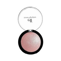 e..f. Baked Highlighter Pink Diamonds  . oz featuring polyvore beauty products makeup pink diamonds highlight makeup powder brush e.l.f. cosmetics powder brush makeup