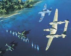 P38 art yamamoto | As the Lockheed P-38 Lightning evolved, it acquired self-sealing fuel ...