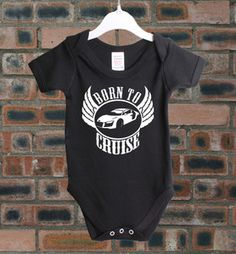 Audi TT Born to Cruise Classic Car Baby Grow Baby Shower Vest BC23 | eBay