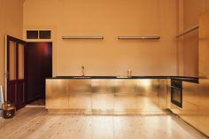 golden kitchen golden kitchen The Golden Kitchen of Stine Goya by Reform stinegoya reform 4