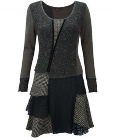 Grey mix dress from joebrowns.co.uk