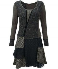 Grey mix dress from joebrowns.co.uk