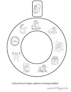 Játékos tanulás és kreativitás: Kisbetűkben képek a hangfelismerés gyakorlásához Dysgraphia, School Hacks, School Tips, Symbols, Letters, Teaching, Writing, Education, Google